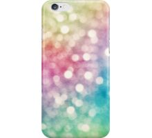 Rainbow Sparkles iPhone Case/Skin