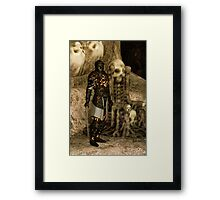 The Dark Lord Framed Print