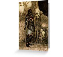 The Dark Lord Greeting Card
