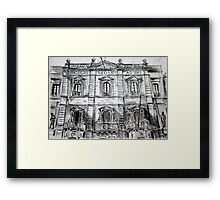 Old Theatre Building Framed Print