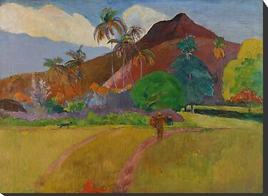 Tahitian Landscape, 1891  by Bridgeman Art Library