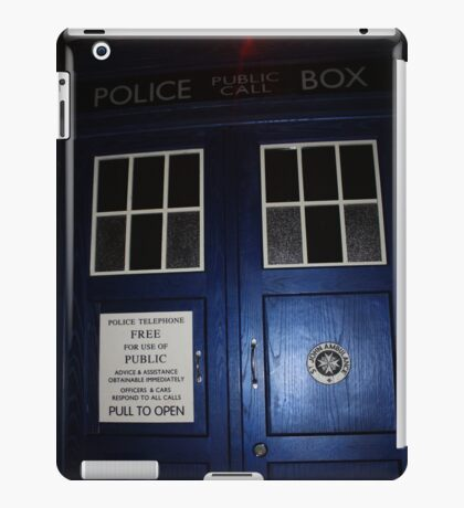 Doctor Who Tardis Door - Tom Baker iPad Case/Skin