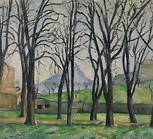 Chestnut Trees at Jas de Bouffan, c.1885-86  by Bridgeman Art Library