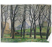 Chestnut Trees at Jas de Bouffan, c.1885-86  Poster