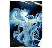 Angel of healing Poster