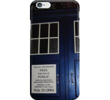 Doctor Who Tardis Door - Tom Baker iPhone Case/Skin