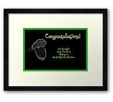 Banner - BWAHOC Challenge Winner Framed Print