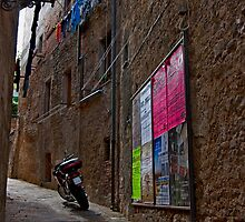 Tuscan Alley by phil decocco