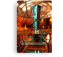 Doctor Who Tardis Control Console Canvas Print