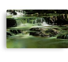 Smooth Water at Summerhill's Force Canvas Print