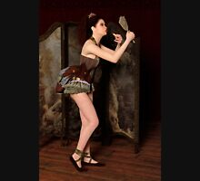 Steampunk Burlesque - Backstage Womens Fitted T-Shirt