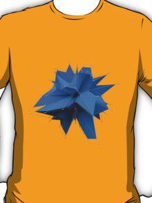 Blue Polygon T-Shirt