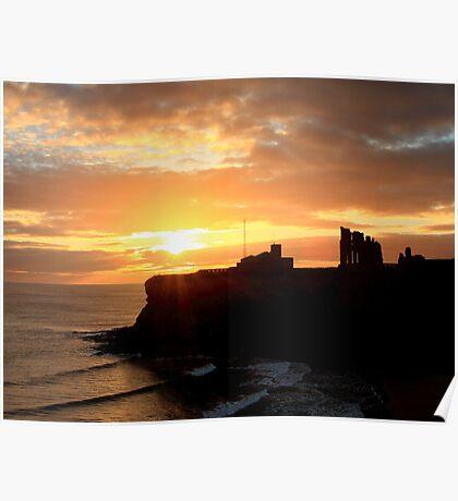 Priory Sunrise Poster