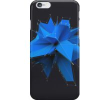 Blue Polygon iPhone Case/Skin