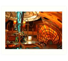 Doctor Who Tardis Interior Art Print