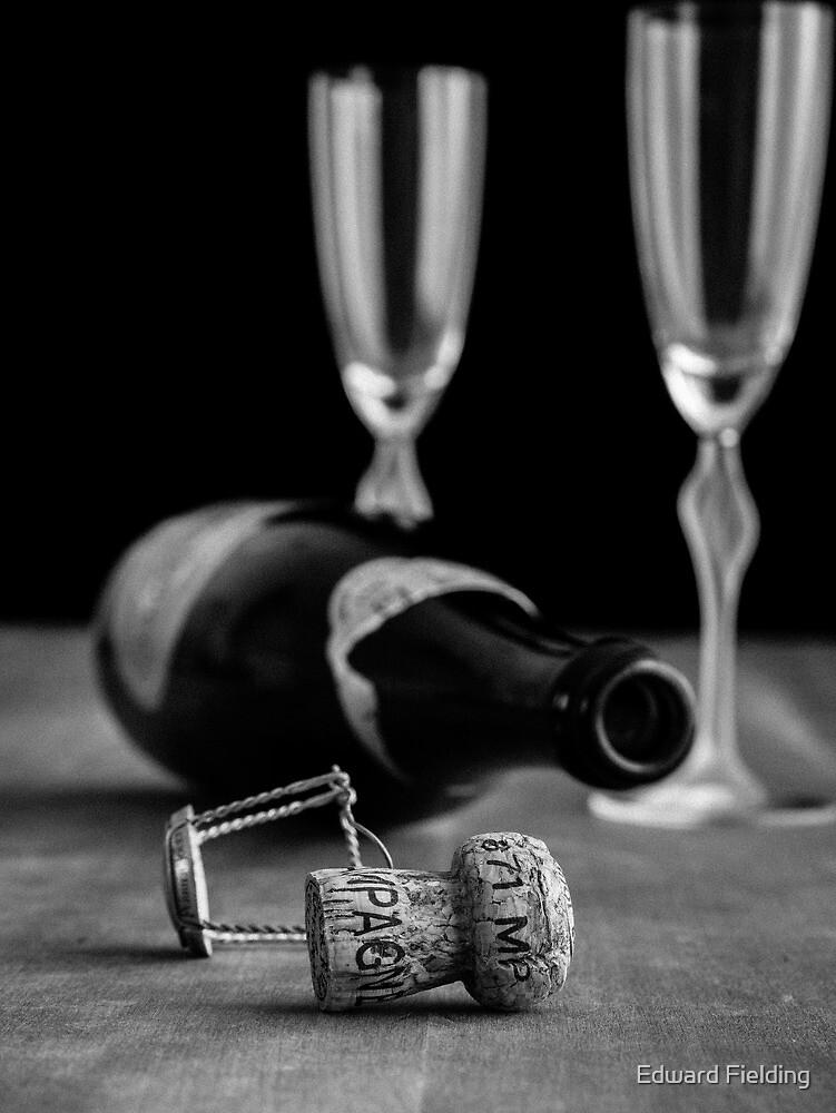 Champagne Toast by Edward Fielding