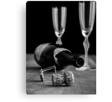 Champagne Toast Canvas Print