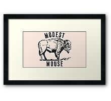 Modest Mouse - Heart Cooks Brain Buffalo Framed Print