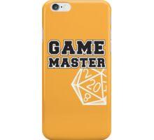 Game Master t-shirt iPhone Case/Skin