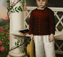 Portrait of a Boy, 1856 by Bridgeman Art Library