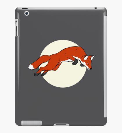 Night Fox Flies over the Moon iPad Case/Skin