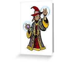 Swords and simians  Greeting Card
