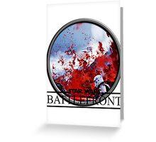 Star Wars: Battlefront Greeting Card