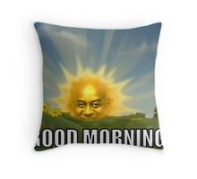 Ainsley Harriott - Good Morning Throw Pillow
