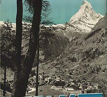 Vintage poster - Zermatt by mosfunky