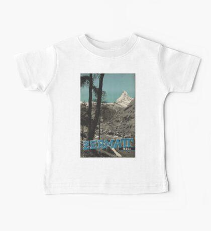 Vintage poster - Zermatt Baby Tee