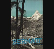 Vintage poster - Zermatt Unisex T-Shirt