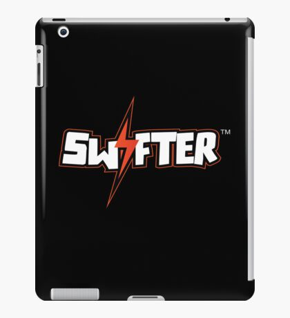 Swifter iPad Case - Black Horizontal iPad Case/Skin