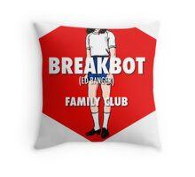 Breakbot - Family Club Throw Pillow