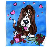 Basset in love Poster