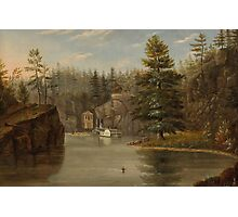 Gorge of the St. Croix, 1847 Photographic Print