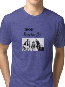 Iron Butterfly Tri-blend T-Shirt
