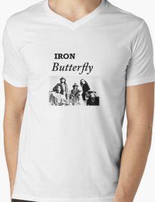 Iron Butterfly Mens V-Neck T-Shirt
