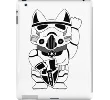 Lucky Trooper Cat iPad Case/Skin