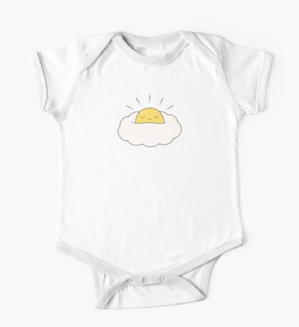 Sunshine for breakfast / Egg cloud One Piece - Short Sleeve