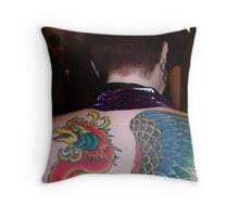 Eagle Backed Throw Pillow