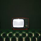 Watching TV, by Jip v K
