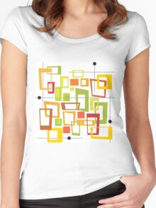 Fours Women's Fitted Scoop T-Shirt