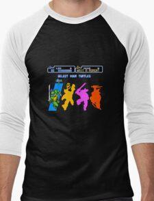 Turtles in Time - Leonardo Men's Baseball ¾ T-Shirt