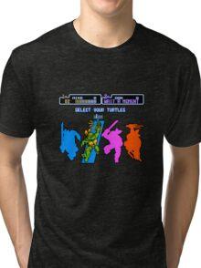 Turtles in Time - Michelangelo Tri-blend T-Shirt