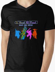 Turtles in Time - Michelangelo Mens V-Neck T-Shirt