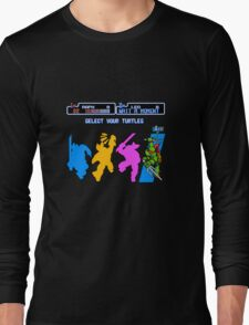 Turtles in Time - Raphael Long Sleeve T-Shirt