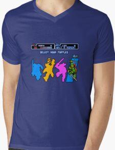 Turtles in Time - Raphael Mens V-Neck T-Shirt