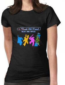 Turtles in Time - Raphael Womens Fitted T-Shirt