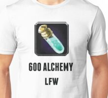 600 Alchemy LFW (Black) Unisex T-Shirt