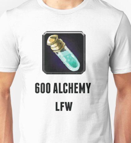 600 Alchemy LFW (Black) Unisex T-Shirt